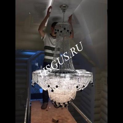 Лотос 11- 17 ламп с подвесом