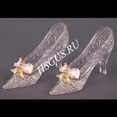 Хрустальная туфелька для Золушки с бантом