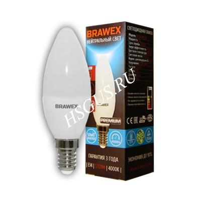 Светодиодная диммируемая лампа свеча Е14,мягкий свет