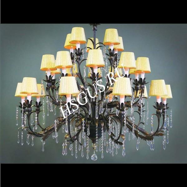 Подвесной Светильник / Большая Люстра Серия - РИГОНДА 25 ламп