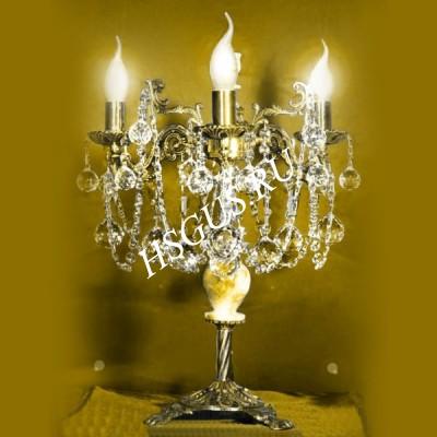 Настольная лампа Бронза 3-5 ламп