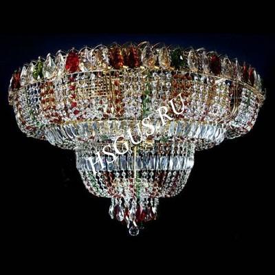 Водопад  5-8-11 ламп Журавлик Цветной