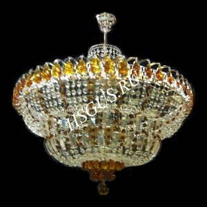 Водопад 5- 8 -11 ламп Журавлик Цветной с подвесом