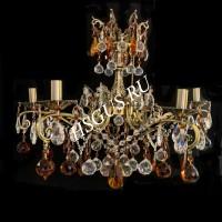 Цветные бронзовые люстры - Российское производство
