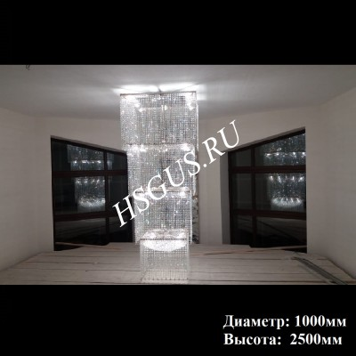 Квадрат Каскад 1000*2500мм
